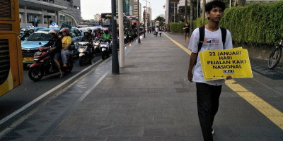Data Kecelakaan Pejalan Kaki di Indonesia Nomor Dua Terburuk