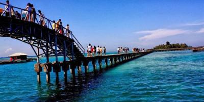 1.453 Wisatawan Menikmati Libur Imlek di Pulau Tidung