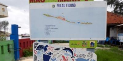 Kini, Ada Peta Petunjuk di Dermaga Kepulauan Seribu