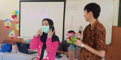 Pelajar dan Guru di Pulau Wisata Ini Diedukasi Virus Corona