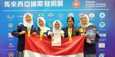 Siswi SMAN 38 Temukan Pencegah Jerawat dari Ekstrak Kulit Petai