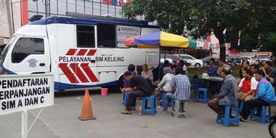 Layanan Pengurusan SIM, STNK dan BPKB Sudah Dibuka Lagi