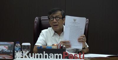 Harapan Besar Pak Yasonna Setelah Resmi Akui Kehadiran Partai Gelora