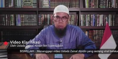Ustaz Zainal Abdin Akui Lisannya Salah Soal Ceramah Lagu Anak