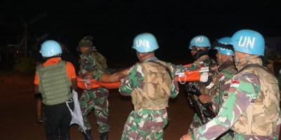 Diserang Kelompok Bersenjata, Prajurit TNI Gugur di Kongo