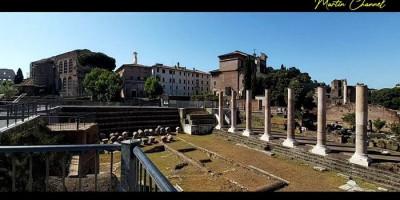 Menikmati Suasana Foro Romano Italia di Tengah Pandemi Covid-19