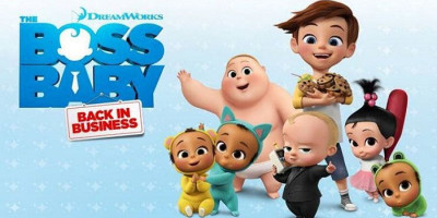 Premier Film The Boss Baby: Back In Business Via Channel Dream Works