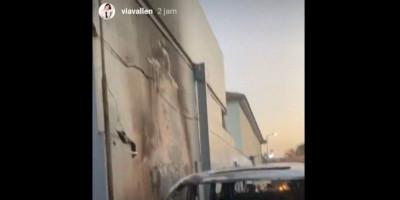 Tiba-tiba, Mobil Mewah Via Vallen Dibakar Orang Tak Dikenal