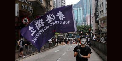 Ratusan Demonstran Ditangkap dalam Protes UU Keamanan Hong Kong