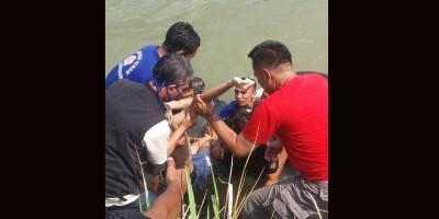 Tanpa Perlengkapan, Tim SAR Yontaifib 1 Mar Berhasil Temukan Korban Tenggelam
