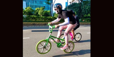 Keren, Vino Bastian Gowes BMX Jadul