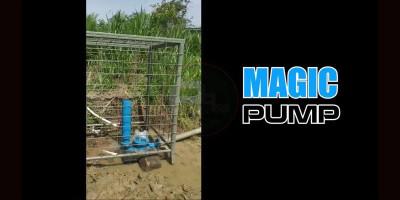 Magic Pump, Pompa Air Bebas Energi Penghasil Satu Juta Liter Per Hari