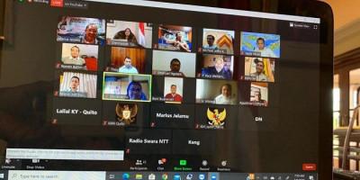 Obati Kerinduan, KBRI Quito Fasilitasi Reuni Virtual Missionaries NTT