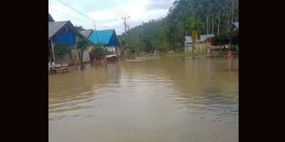 Delapan Desa di Konawe Terendam Banjir, Warga Diimbau Tetap Siaga