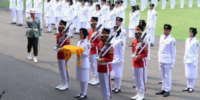 Istana Pilih 8 Orang Paskibraka Cadangan dari Tahun 2019