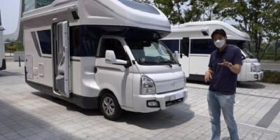 Hyundai H-100, Motorhome yang Pas untuk Traveling