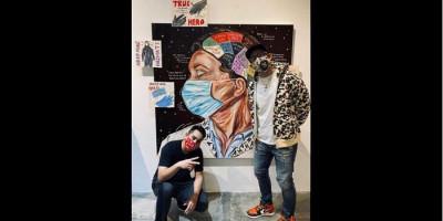 Ganindra Bimo Nilai Lukisan 'The True Hero' Fenomenal