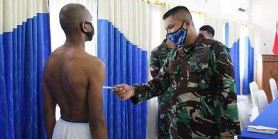 Komandan Lanud Silas Papare Pimpin Patukhirda Calon Taruna AAU Asal Papua