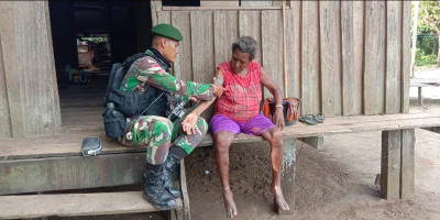 Pengobatan Gratis Warga Kampung Rimer Sary