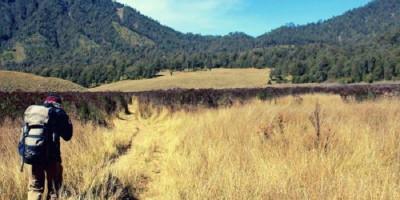 Mendaki Gunung Semeru Sendirian, Guna Melatih Mental (2)