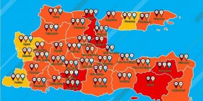 Positif Covid-19 Meningkat Tajam, Kabupaten Blitar Masuk Zona Merah