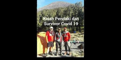 Tolong Wisatawan Asing di Gunung, Seorang Pendaki Positif Covid-19