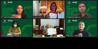Gandeng Grab Percepat Transformasi Digital UMKM