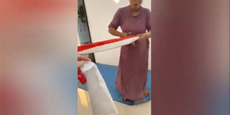 Buntut Video Pengguntingan Bendera Merah Putih, 4 Perempuan Dicokok Polisi