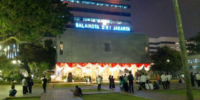 Dua Pejabat Positif Covid-19, Anies Tutup Gedung Blok G Balai Kota