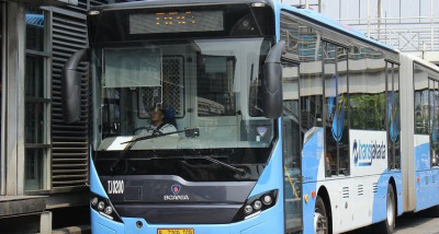 TransJakarta Lakukan Perubahan Operasional Selama PSBB, Simak Lengkapnya