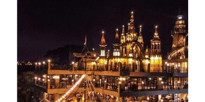Mercusuar Cafe and Resto, Sensasi Ngopi Sekaligus Piknik di Kastil
