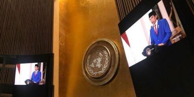 Simak, Pidato Lengkap Presiden Jokowi di Sidang Umum PBB