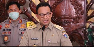 Dampak PSBB, Anies Baswedan Sebut Jumlah Kasus Positif Covid-19 Melandai