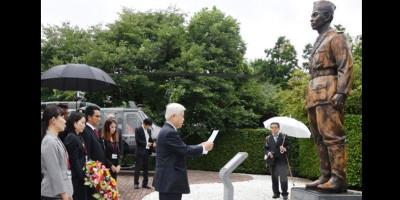 Ganang Soedirman, Model Patung Sang Panglima Besar yang Berdiri Tegak di Jepang