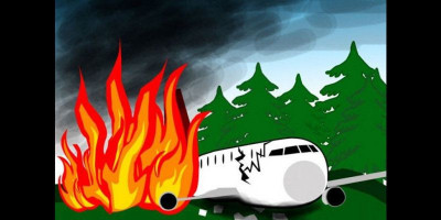Detik-detik Pesawat Militer Jatuh dan Menewaskan 22 Orang