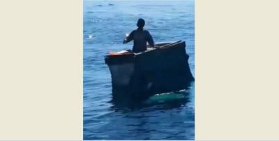 Perahunya Bocor dan Tenggelam, Kakek Ini Terombang-ambing di Laut 6 Hari