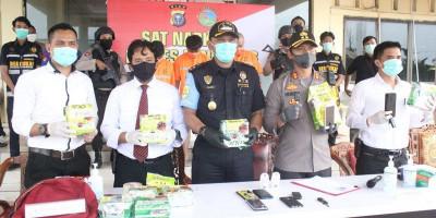 Penyelundupan 10 Kilogram Sabu dari Malaysia Berhasil Digagalkan