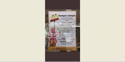 Benarkah McDonald's Kuta Beach Tutup Permanen?