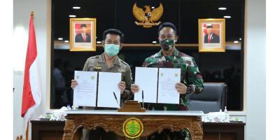 Kementan dan TNI Perkokoh Kesiapan Ketahanan Pangan