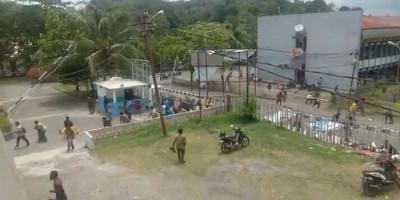 Beredar Video Hujan Tembakan di Universitas Cenderawasih Papua, Sejumlah Orang Berhamburan