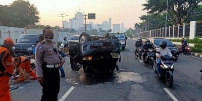 Jumlah Korban Kecelakaan Naik 40 Persen Selama PSBB Jakarta