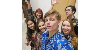 Batik di Rusia