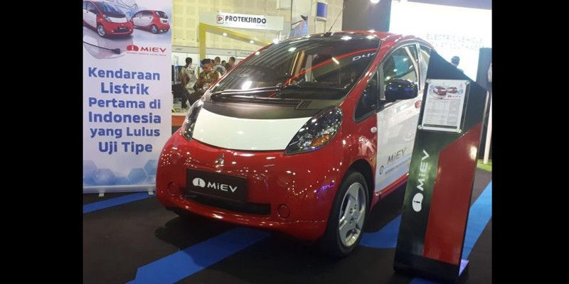 Mitsubishi Hentikan Produksi Mobil Listrik I Miev