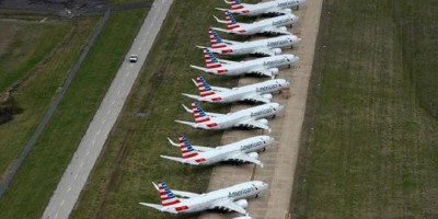 American Airlines Tunda Pelatihan Pilot Boeing 737 MAX