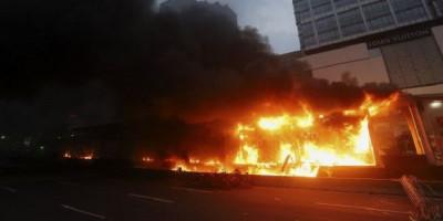 18 Halte Transjakarta Dirusak Demonstrans, Ini Jumlah Kerugiannya