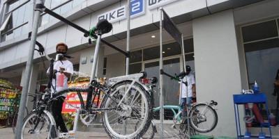 Bike2Wash, Tempat Merawat Sepeda Tanpa Rasa Khawatir