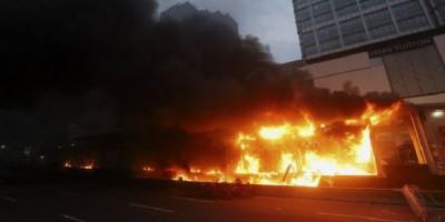 131 Orang Jadi Tersangka Kericuhan Demo Omnibus Law