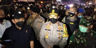 Kapolda: Aksi Berjalan Tertib Walau Ada Sedikit Lempar-lemparan