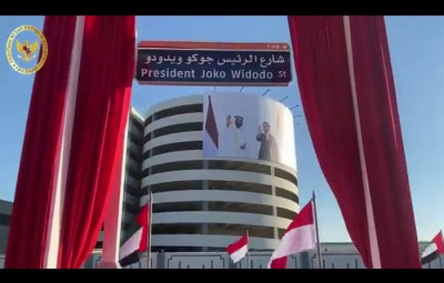 Nama Presiden Joko Widodo Diabadikan di Jalan Utama Abu Dhabi
