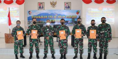 Taklimat Akhir Audit Kinerja Itjen TNI Priode IV 2020 di Lanud Silas Papare